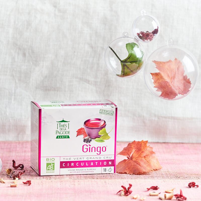 Thé Vert Vanille & Fleur de Cerisier 20 sachets
