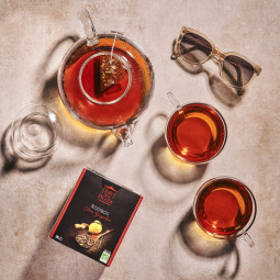 Rooibos citron-gingembre - Visuel lifestyle