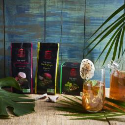 Thé vert à la menthe - Visuel lifestyle