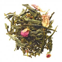 Thé vert vanille & fleur de cerisier - Visuel du blend