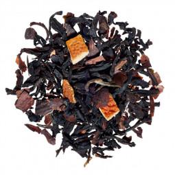 Thé noir chocolat orange - Visuel du blend
