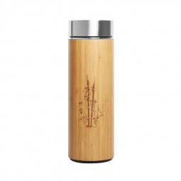 Thermos Bambou - Visuel fermé