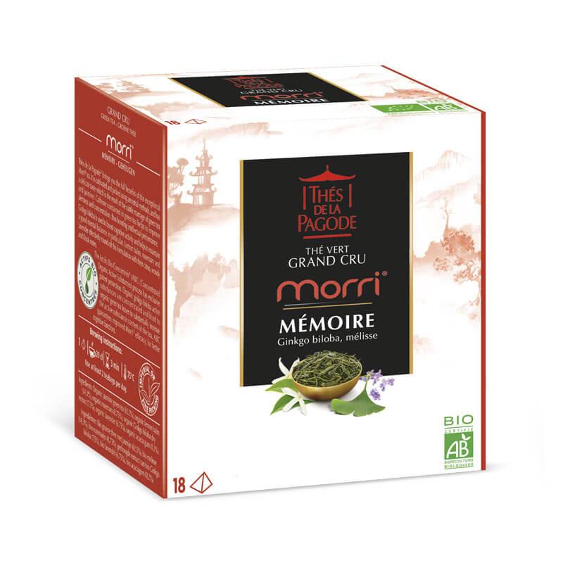 Morri - Visuel du packaging de 18 sachets
