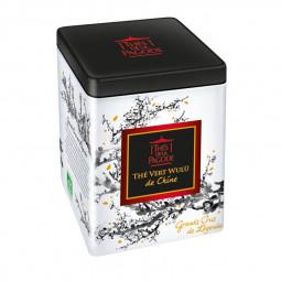 Thé vert Wulü de Chine - Visuel de la boite métal 80g