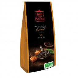 Thé noir caramel - Visuel du sachet de 100g