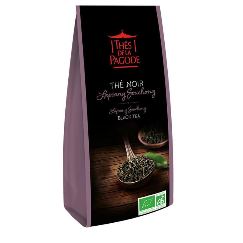 Thé Noir Lapsang Souchong - Visuel du sachet de 100g