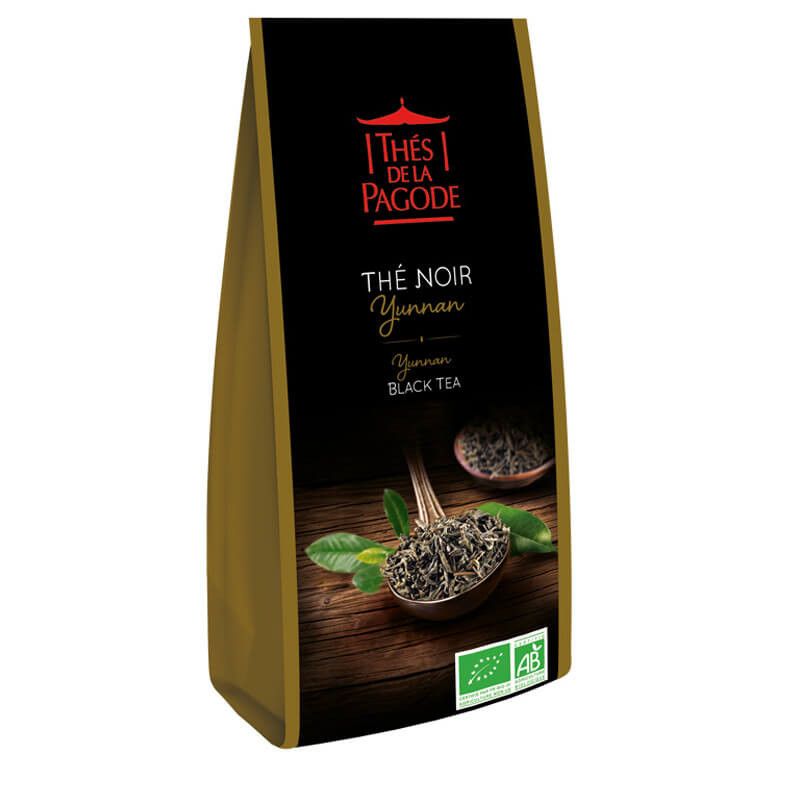 Thé Noir Yunnan - Visuel du sachet de 100g