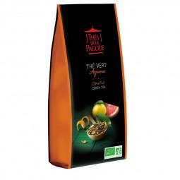 Thé vert agrumes - Visuel du vrac 100g