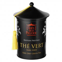 Thé vert earl grey - Visuel de l'Edition Prestige de 100g