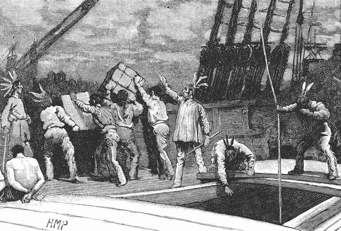Histoire du thé : anniversaire de la Boston Tea Party